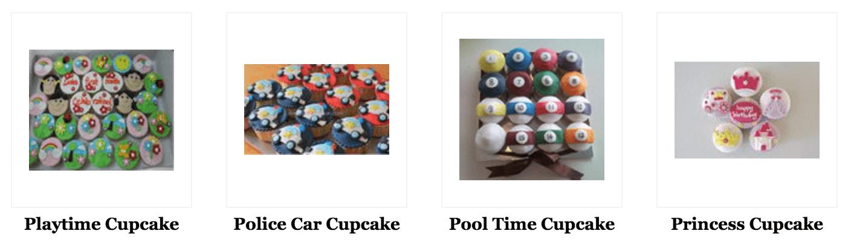 designed cupcakes