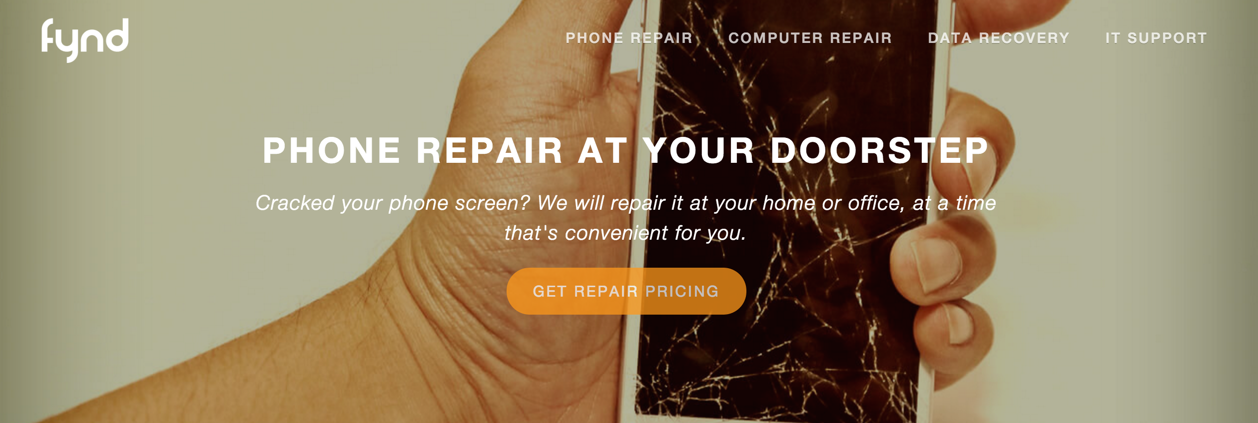 fynd phone repair promo code