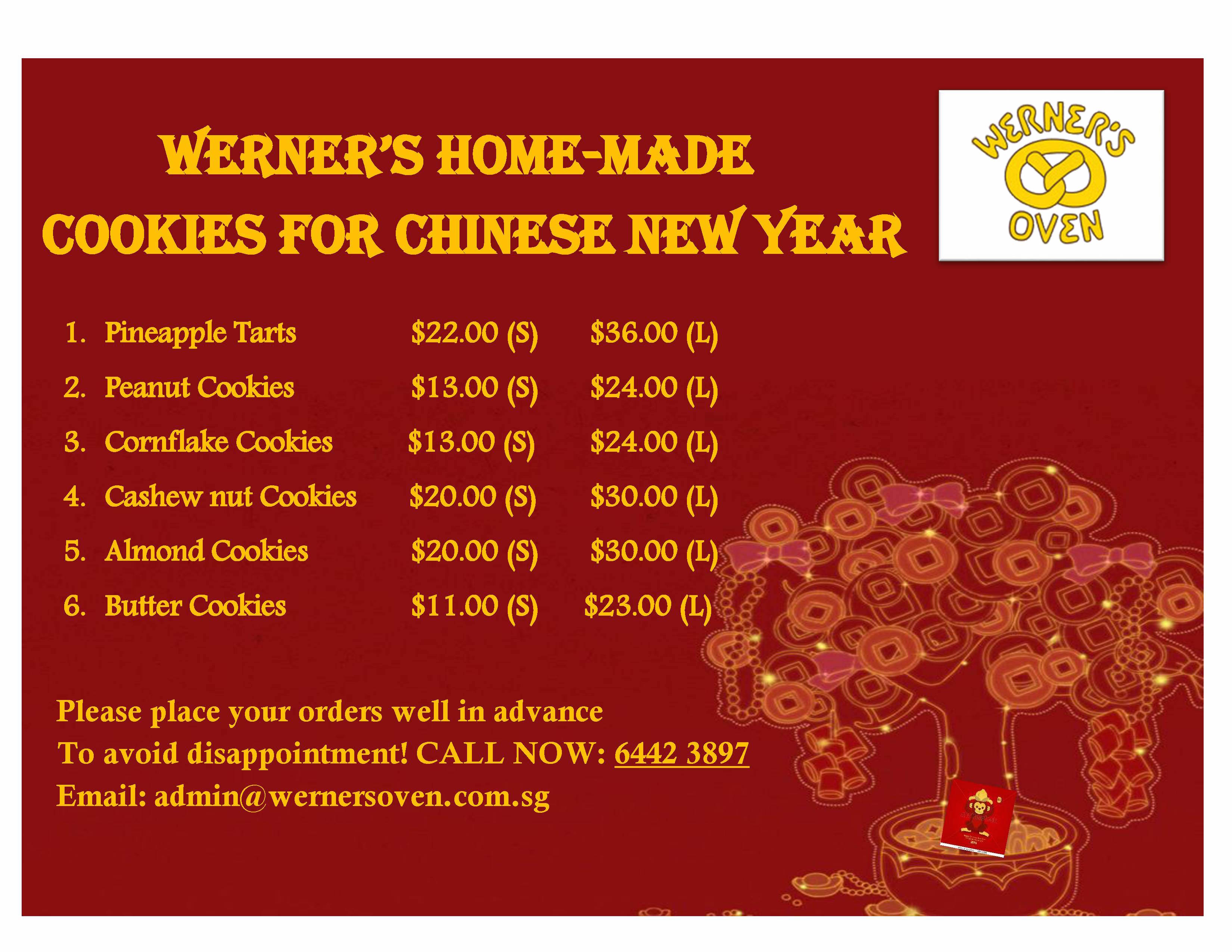 werners oven cny sg