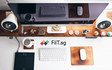 work desk maximise space
