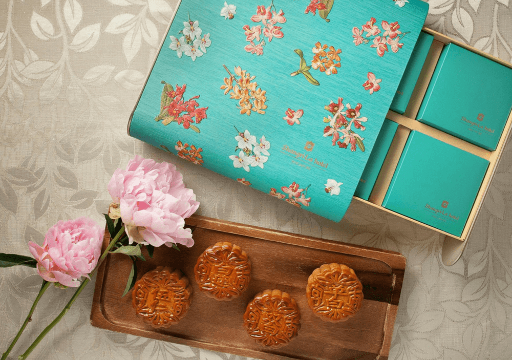 FiiT Impress your Business Network with Mooncakes Shang Palace Four Treasures